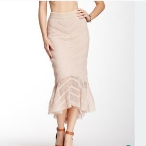 Free People fishtail skirt